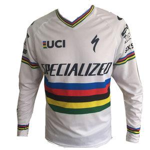<span class=H>闪电</span>速降服t恤 UCI山地车<span class=H>骑行服</span>长袖上衣 夏季越野摩托车服赛车服