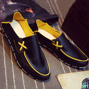 夏季<span class=H>男鞋</span>子透气<span class=H>豆豆鞋</span>男半拖懒人鞋青年休闲鞋韩版潮流一脚蹬潮鞋