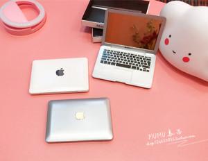 迷你随身镜子 创意苹果笔记本<span class=H>电脑</span>造型 便携折叠小化妆镜动漫周边
