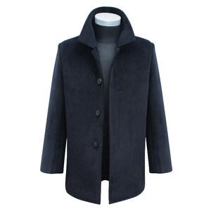 特价厚秋冬款中老年羊毛<span class=H>呢大衣</span>男士中长款羊绒呢子上衣外套爸爸装