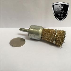 兔影汽车<span class=H>用品</span>刹车系统保养护轮毂打磨防锈零配件镀铜直筒圆钢刷头