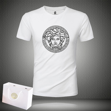New Men's Medusa Short-sleeved T-shirt in Summer 2009 Couple Dress