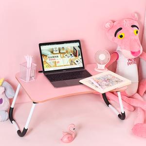简约学生宿舍学习用小<span class=H>书桌</span>可折叠懒人小桌子床上电脑桌电脑折叠桌