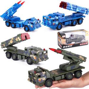 嘉业红旗12导弹发射车300毫米远程火箭炮<span class=H>军事</span><span class=H>战车</span>模型玩具装甲车