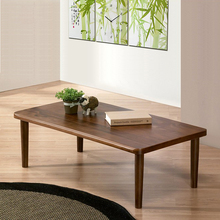 Simple Solid Wood Tea Table Nordic Simple Small-family Tea Table Creative Assembly Living Room Square Tea Table Modern Economy