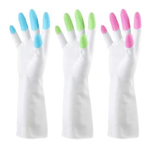 清洁<span class=H>手套</span>加长卫生<span class=H>手套</span>洗碗家务厨房耐用厨房<span class=H>手套</span>洗碗防水胶皮橡胶