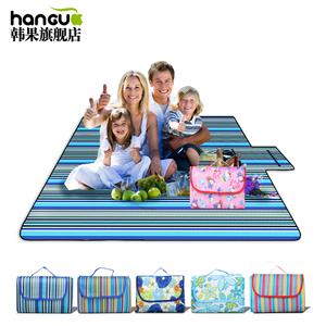 户外地毯防潮草地野外旅游野餐垫便携草坪坐<span class=H>垫子</span>郊外折叠防水地垫