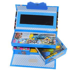 文具笔盒可改密码带锁的有男孩小学生一年级五男童大容量多层有秘