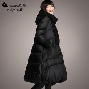 品牌大码160斤羽绒衣冬季新款女装加厚韩版孕妇轻薄<span class=H>羽绒服</span>女 长款