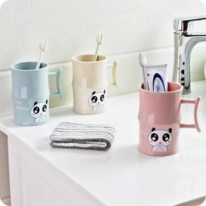 创意竹节造型儿童刷牙杯塑料卡通洗漱杯情侣刷牙缸杯子<span class=H>漱口杯</span>