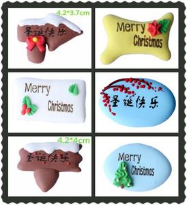 圣诞节装饰糖 圣诞糖片 糖人糖<span class=H>公仔</span> 生日<span class=H>蛋糕</span>装饰糖片 翻糖装饰件