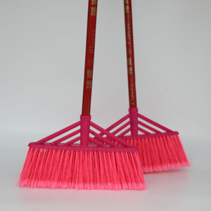 掌柜推荐优质<span class=H>扫把</span>扫帚硬毛硬丝<span class=H>扫把</span>扫水刷地工厂学校专用扫帚木杆
