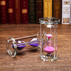 水晶<span class=H>摆件</span>结婚新婚闺蜜生日礼物装饰品时间沙漏计时器创意个性礼品
