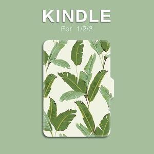 Kindle白色芭蕉叶paperwhite321<span class=H>休眠</span>轻薄<span class=H>皮套</span>958558voyage保护壳