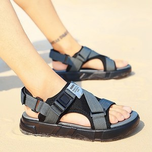 巨猎2019夏季新款时尚沙滩鞋男士休闲<span class=H>凉拖</span>鞋子青少年潮流软底防滑