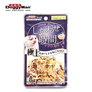 日本多格漫美味时间系列成<span class=H>猫</span>鱼罐包55g <span class=H>猫零食</span>湿粮拌主粮