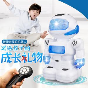 阿尔法可动机器人玩具机械跳舞电动宇宙战警小胖充电男孩儿童C2