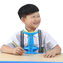 Real learning anti-myopia sitting position corrector Children's visual protection device Primary school pupils reading and eye protection bracket Writing posture corrector Head down reminder anti-hunchback corrector Writing homework posture corrector
