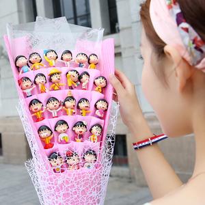 樱桃小丸子特别送小女孩女友生日礼物创意可爱玩偶少女心闺蜜新奇