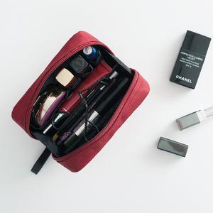 ins网红<span class=H>化妆包</span>女小号便携旅行化妆袋口红包简约随身化妆品收纳包