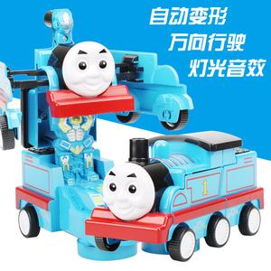 变形托马斯小火<span class=H>车</span><span class=H>玩具</span><span class=H>儿童</span>宝宝<span class=H>电动</span>火<span class=H>车</span>1-3-6周岁男孩万向<span class=H>玩具</span><span class=H>车</span>