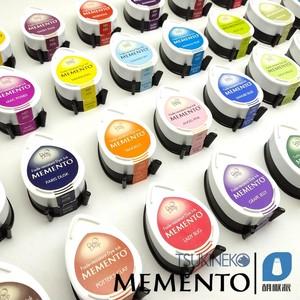 【MD】 日本进口月猫Memento MD系列水滴水性印台 全系36色