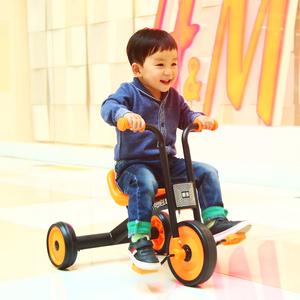 日本儿童<span class=H>三轮车</span>迷你简易小孩1-3-2岁4宝宝轻便幼儿男孩女孩脚踏车