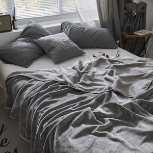 清仓加厚法兰绒毛毯被子单人<span class=H>毛巾被</span>冬季毯子拉舍尔珊瑚绒毯子床单
