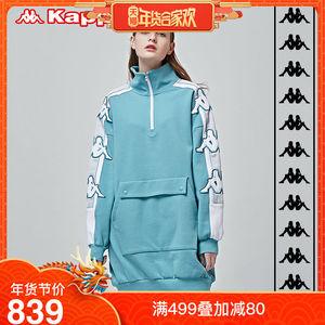 Kappa卡帕 BANDA女子<span class=H>连衣裙</span>串标中长款<span class=H>连衣裙</span> K0822QL50