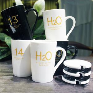 【康兴源】大容量马克杯咖啡杯带盖勺