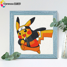 Digital Oil Painting Diy Children's Room Cartoon Animation Digital Filling Hand Painting Oil Decoration Painting