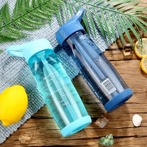 台湾绿贝大容量吸管运动水杯子男女学生便携简约塑料水瓶夏季<span class=H>水壶</span>