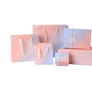 2019热卖的大号碎花礼品盒礼物盒纸盒子粉色小清新生日礼物礼品包