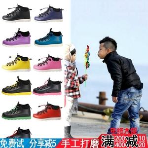 石头同款新潮<span class=H>童鞋</span>靴子native Fitzsimmons儿童<span class=H>亲子鞋</span>学步鞋婴儿靴