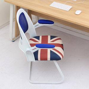 椅姿电脑椅家用学生宿舍学习椅现代简约个性时尚办公弓形椅子