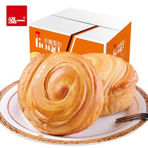 泓一手撕面包整箱3斤 营养早餐面包办公休闲点心西式<span class=H>糕点</span>网红零食