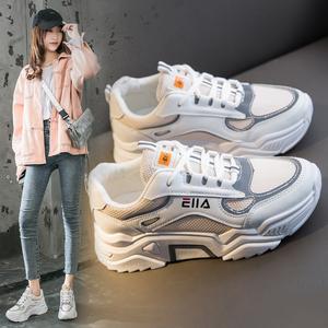 春季透气反光休闲鞋运动鞋老爹鞋女鞋