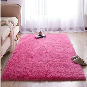 新款纯色现代简约可水洗客厅卧室床边飘窗满铺定制防滑<span class=H>地毯</span>