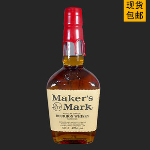 美国进口洋酒美格波本威士忌Maker's Mark Bourbon Whisky700ML