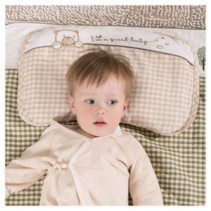 <span class=H>塔卡塔图</span>新生儿护型枕婴儿宝宝苎麻定型枕防偏头枕0-9个月1-6岁