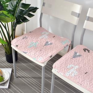 布艺全棉简约现代卡通四季通用椅子垫<span class=H>坐垫</span>餐垫办公椅垫