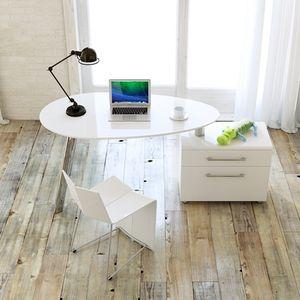 转角电脑桌烤漆简约现代家用书台创意书房台式时尚<span class=H>书桌</span>办公桌旋转