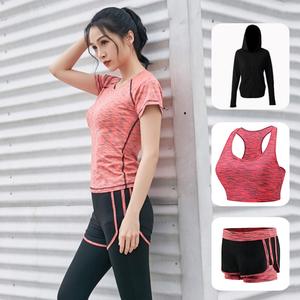 网红速干跑步瑜伽服套装女