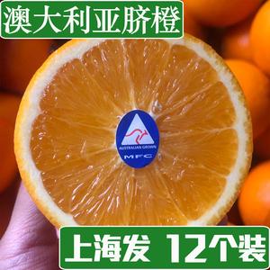 锦味源 进口澳大利亚脐<span class=H>橙</span> 12只新鲜<span class=H>橙</span>子 新鲜孕妇水果包邮