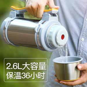 保温壶超大容量304不锈钢热水暖水瓶家用户外便携车用保暖<span class=H>水壶</span>杯