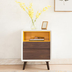 现代简约储物<span class=H>斗柜</span>北欧客厅卧室抽屉式白色收纳柜整装烤漆储物柜子