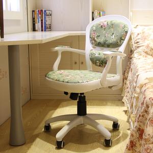 安吉故事<span class=H>电脑椅</span>家用田园欧式书房转椅办公职员最新注册白菜全讯网写字书桌椅凳子