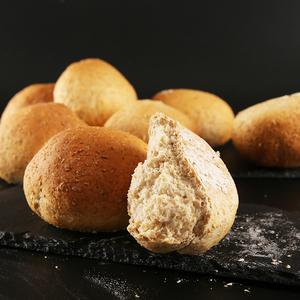 梅塔佐黑麦全麦面包早餐运动健身代餐黑麦<span class=H>粗粮</span>面包球4个不放油糖