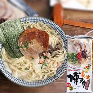 日本进口食品Marutai九州<span class=H>拉面</span>博多风味豚骨猪骨日式方便面条185g