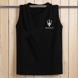 夏季男士<span class=H>背心</span>纯棉青年透气潮流篮球坎肩跨栏运动宽松无袖T恤嘻哈